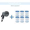 Сменный картридж для фильтр насоса Intex 29007 тип «H», 1 шт, 10 х 9 см, фото 5