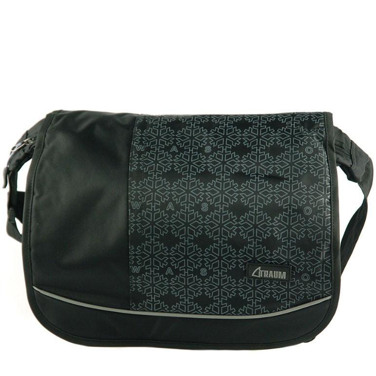 5ff60784c1e8 Женская спортивно-деловая черная сумка TRAUM - Arion-store - кожгалантерея  и аксессуары в