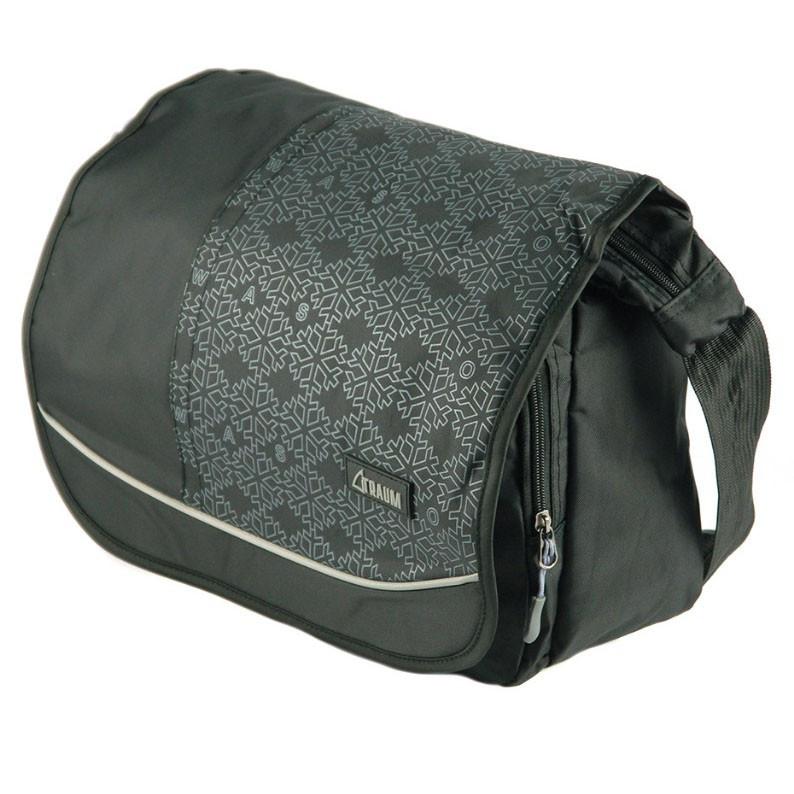 782b0238c4a6 Женская спортивно-деловая черная сумка TRAUM, цена 486 грн., купить в Киеве  — Prom.ua (ID#864123146)