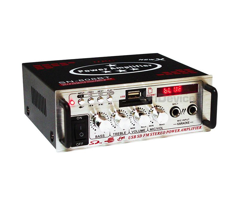 Усилитель звука UKC SN-808BT Bluetooth, USB