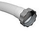 Гофрированный шланг с гайками для бассейна Intex 11390 к песочному насосу и хлоргенератору. Длина 32 см, диамерт 38 мм, резьба 50 мм, фото 2