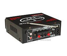 Усилитель звука UKC SN-808BT Bluetooth, USB, фото 2