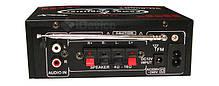 Усилитель звука UKC SN-808BT Bluetooth, USB, фото 3