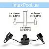 Ручной насос для надувания Intex 68612 (объем 1.5 л), фото 8