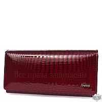 b5b595afd8b7 Красный женский кошелек из натуральной лакированной кожи Henghuang