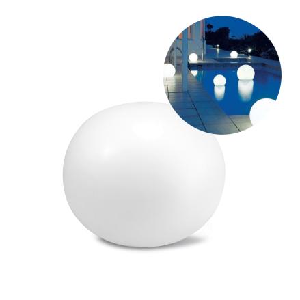 Декоративный светодиодный фонарь Intex 68695 «Глобус» надувной, плавающий, новый.  Работает от аккумулятора.