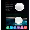 Декоративный светодиодный фонарь Intex 68695 «Глобус» надувной, плавающий, новый.  Работает от аккумулятора., фото 4