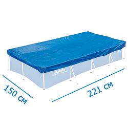 Тент для бассейна Bestway 58103, каркасный 221 х 150 см