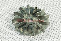Крыльчатка вариатора переднего (с выступающими лопостями) для китайских скутеров (двигатель 125-150сс 4-Т)