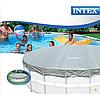 Тент для бассейна Intex 28041 (57900), каркасный 549 см, фото 7
