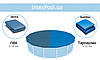 Тент для бассейна Intex 28032 (58901), каркасный 457 см, фото 5