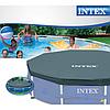 Тент для бассейна Intex 28032 (58901), каркасный 457 см, фото 10