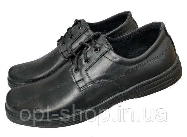 Мужские кожаные туфли Bastion