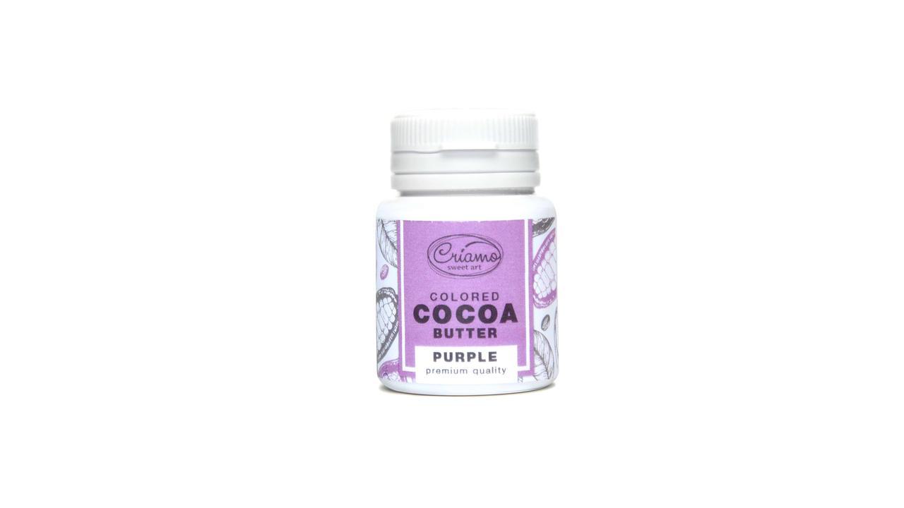 "Краситель для шоколада на какао масле ""Пурпурный (Purple) 18 г.""Criamo"""