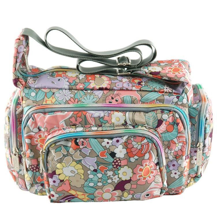 423b62655a14 Пестрая подростковая сумка через плечо с рисунком разных зверей Traum -  Arion-store - кожгалантерея