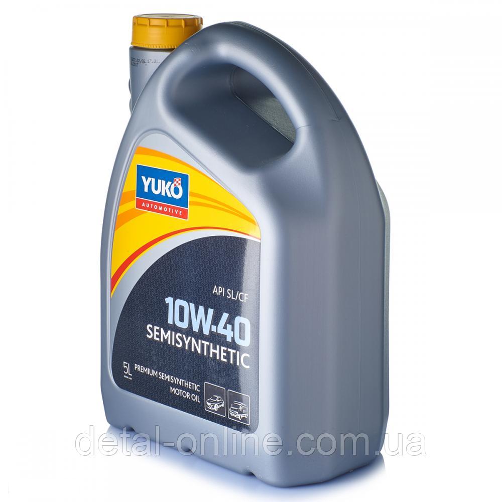 Масло моторное полусинтетическое SEMISYNTHETIC 10W-40 (API SL/CF) YUKO (5л)