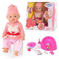 Пупс функциональный с аксессуарами Baby Doll BB 8001 K