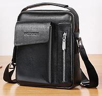 Мужская сумка с ручкой. Барсетка мужская через плечо Размер(в см) 24 на 20 КС44