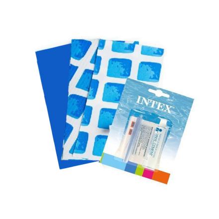 *Ремкомплект «Эксклюзив» для надувных бассейнов Intex 59600, 3 шт (13 х 10 см)