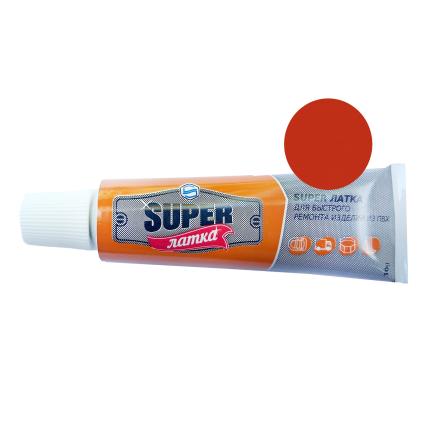 Жидкий ПВХ «Super Латка» 70009, красный 10 г