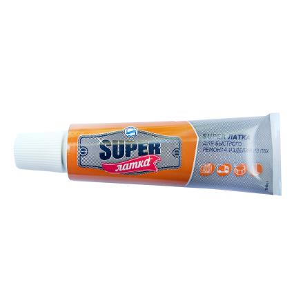 Жидкий ПВХ «Super Латка» 70002, прозрачный 10 г