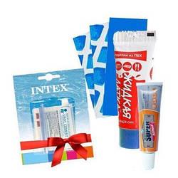 *Ремонтный набор 4в1 для Easy Set Intex 32366, рем-комплект, Жидкая латка, super латка, латки