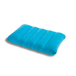 Надувная флокированная подушка Intex 68676,голубая