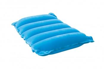 Надувная флокированная подушка Bestway 67485, голубая, 48 х 24 х 9 см