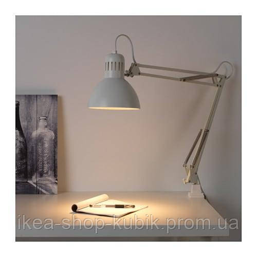 IKEA ТЕРЦИАЛ Лампа рабочая, белый