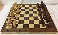 Набор 3 в 1 деревянные шашки, шахматы, нарды 35 см, фото 1