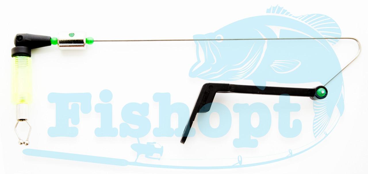 Свингер на штанге без подключения с металическим захватом лески