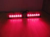 Стробоскопы Federal signal  S5-6 LED красный 12-24В. Проблесковый маячок., фото 1
