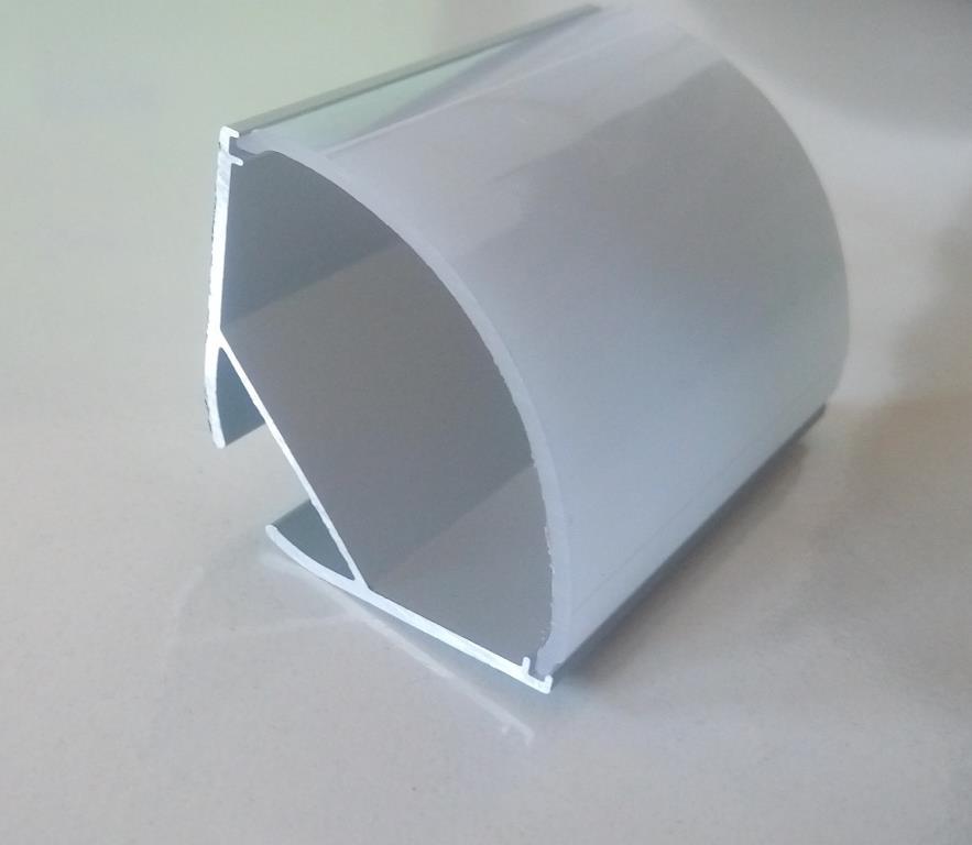 Кутовий алюмінієвий профіль разом з розсіювачем 2м для LED стрічки АЛ-06-1