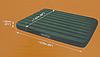 Надувной матрас Intex 66929, 152 х 203 х 22 см, со встроенным ножным насосом. Двухместный, фото 7