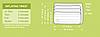 Надувной матрас Intex 66929, 152 х 203 х 22 см, со встроенным ножным насосом. Двухместный, фото 10