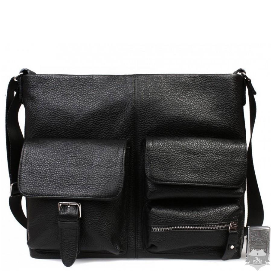 9780daf26d82 Оригинальная деловая кожаная мужская сумка для документов А4 и ноутбука ALVI