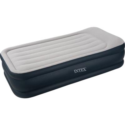 Надувная кровать Intex 67732, 99 х 191 х 43 см, с ом, встроенный электронасос. Односпальная
