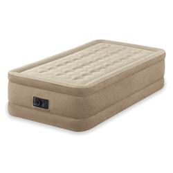 Надувная кровать Intex 64456, 99 х 191 х 46 см, встроенный электронасос. Односпальная