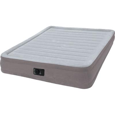 Надувная кровать Intex 67770, 152 х 203 х 32 см, встроенный электронасос. Двухспальная