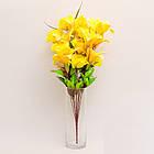 Букет розы с лилией NB-142/18 (7 шт./уп.) Искусственные цветы оптом, фото 5