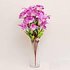 Букет розы с лилией NB-142/18 (7 шт./уп.) Искусственные цветы оптом, фото 7