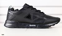 Кроссовки REEBOK кожаные черные , фото 1