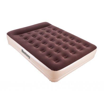 Надувная кровать Bestway 67574, 152 х 203 х 38 см, встроенный электронасос. Двухспальная