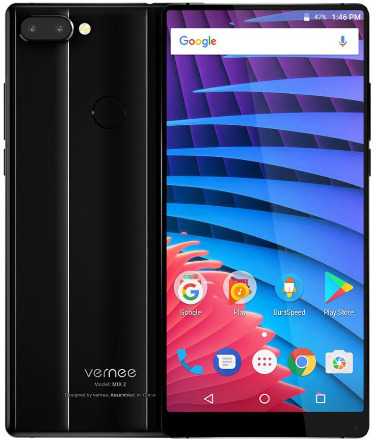 Vernee MIX 2 | Черный | 4/64 ГБ | 4G/LTE | Гарантия