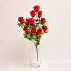 Букет роз NY 122 /12 (14 шт./ уп.) Искусственные цветы оптом, фото 4