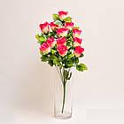 Букет роз NY 122 /12 (14 шт./ уп.) Искусственные цветы оптом, фото 6