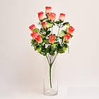 Букет роз NY 122 /12 (14 шт./ уп.) Искусственные цветы оптом, фото 5