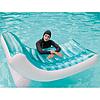 Надувное пляжное кресло-шезлонг Intex 58856, голубое, 188 х 99 см, фото 9
