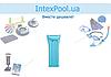 Надувной водный матрас Intex 59703, голубой, 183 х 69 см, фото 4