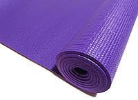 Профессиональный коврик для йоги, фитнеса и аэробики 1730×610×5мм, PVC, HS, однослойный, фото 1
